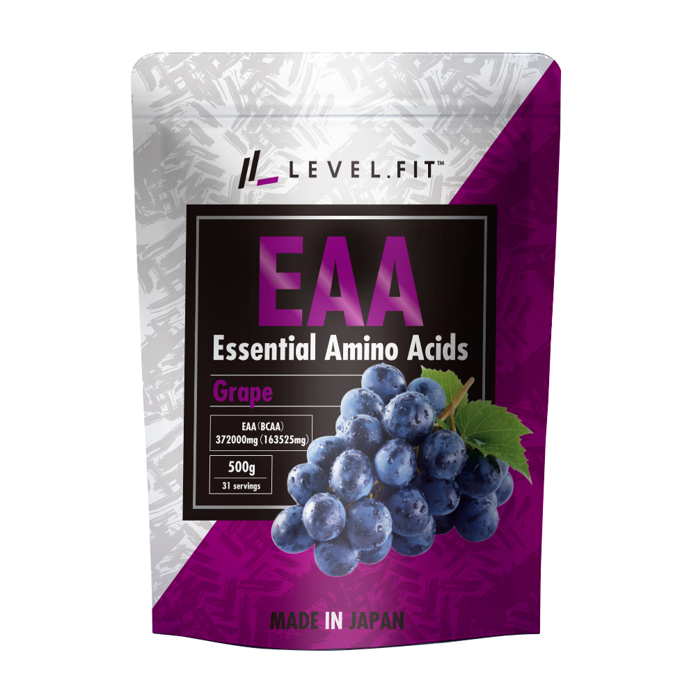 LEVEL FIT EAAパウダー グレープ味 500mg(31杯分)